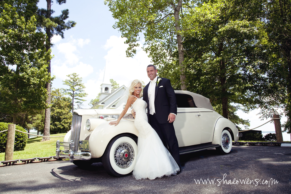 Vintage Wedding Car Auburn Opelika LaGrange Columbus Montgomery